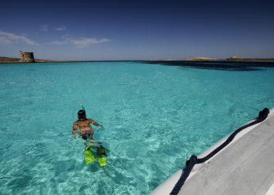 snorkeling piscine Isola Piana